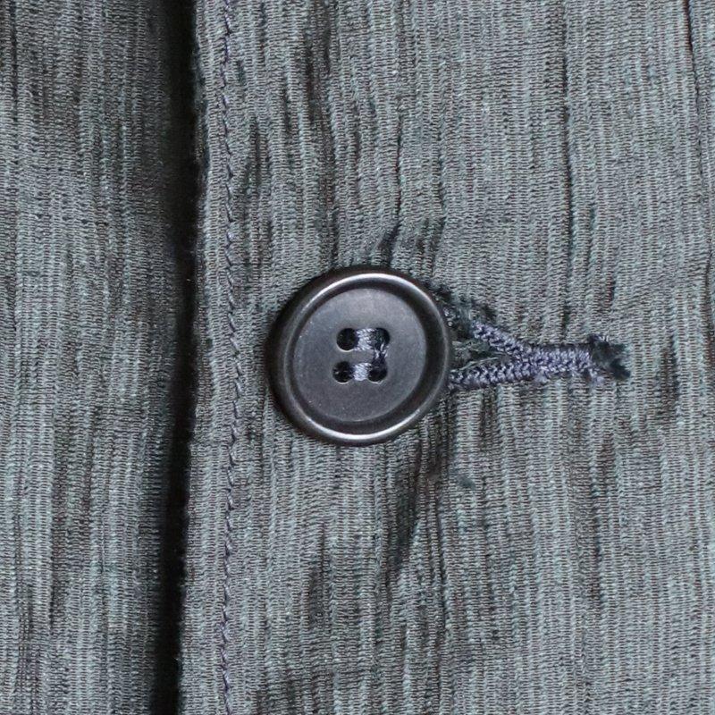 POST OVERALLS * POST42 DV Crinkle Linen/Cotton   Olive
