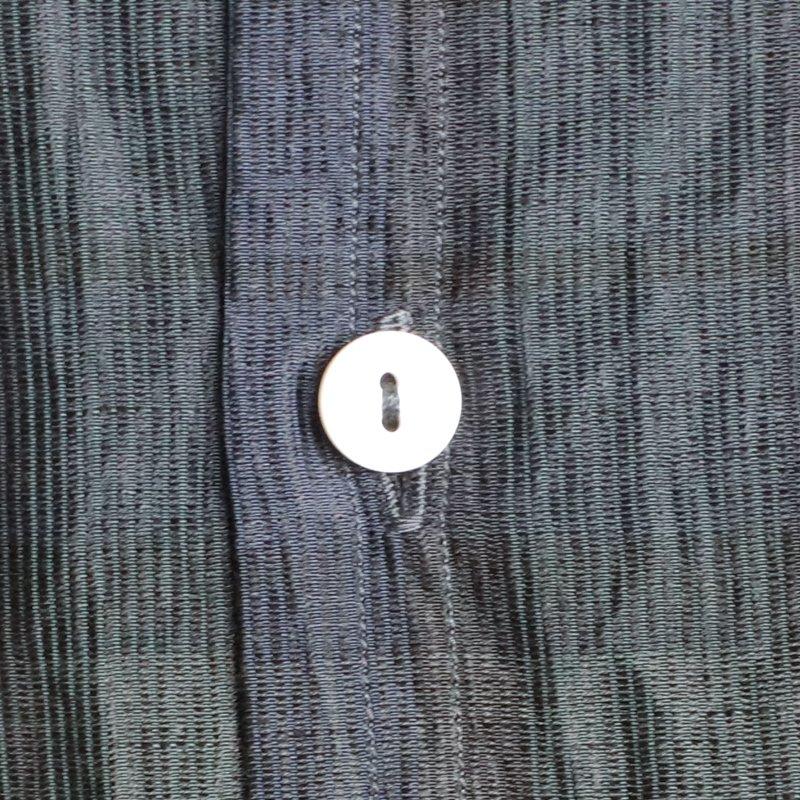 POST OVERALLS * NEUTRA2 Crinkle Linen/Cotton Blackwatch