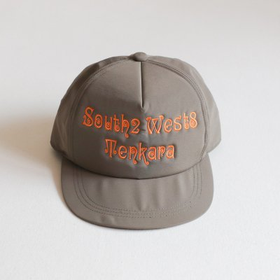 South2 West8  * TRUCKER CAP  S2W8 Tenkara Emb   Olive