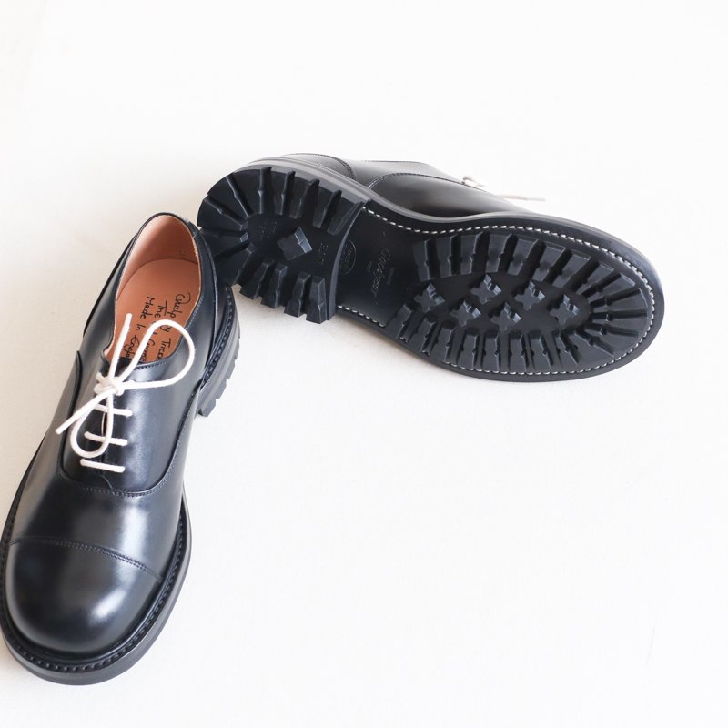 Quilp by Tricker's * Oxford Shoe  Black Box Calf
