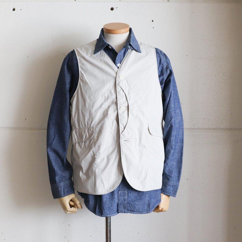POST OVERALLS * Cruz Shirt 2  Chambray Indigo