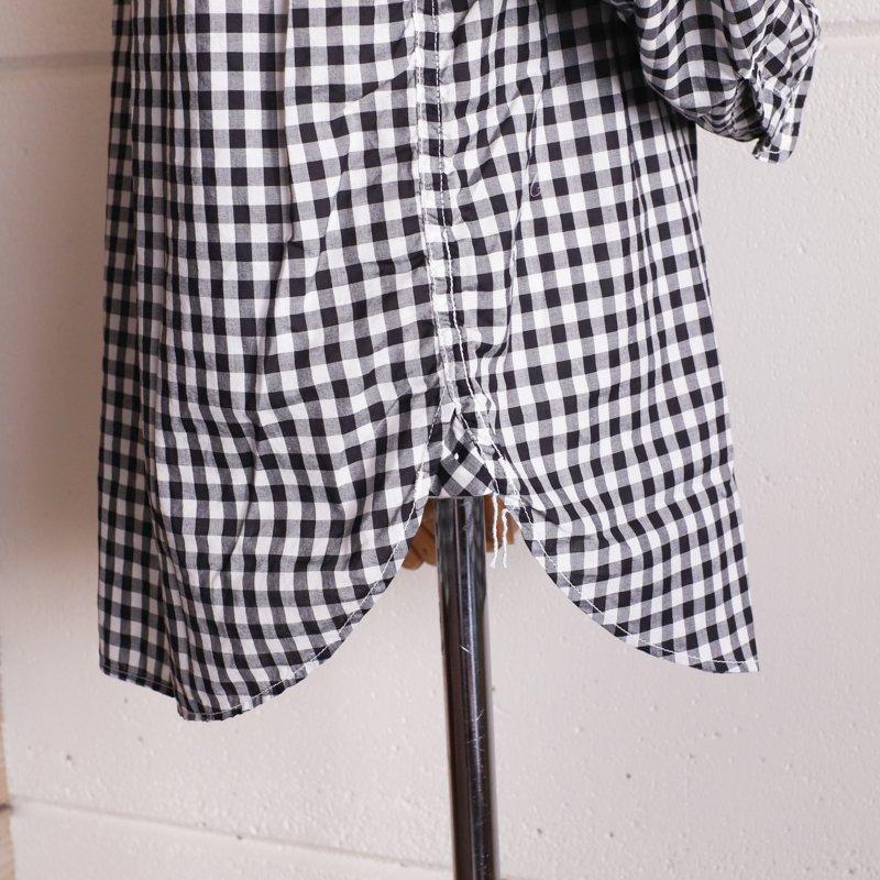 POST OVERALLS * Cruz Shirt 2   Block Check  Black/White