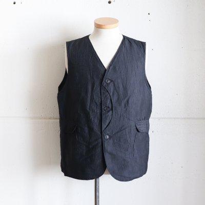 POST OVERALLS * Royal Traveler  Crinkle Linen/Cotton  Charcoal