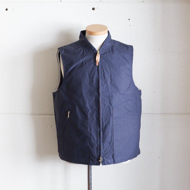 MANIFATTURA CECCARELLI * New Travel Vest  Navy