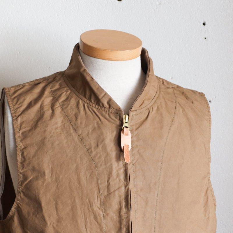 MANIFATTURA CECCARELLI * New Travel Vest  Dark Tan