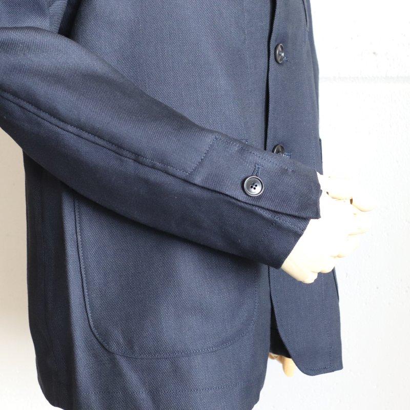 1ST PAT-RN * ANDERS  JACKET  Wool/Hemp   Navy