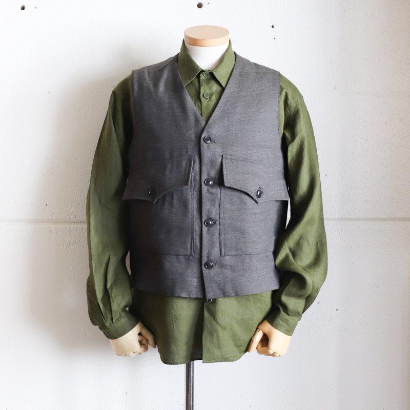 1ST PAT-RN * ROMEO VEST  Wool/Hemp   Military