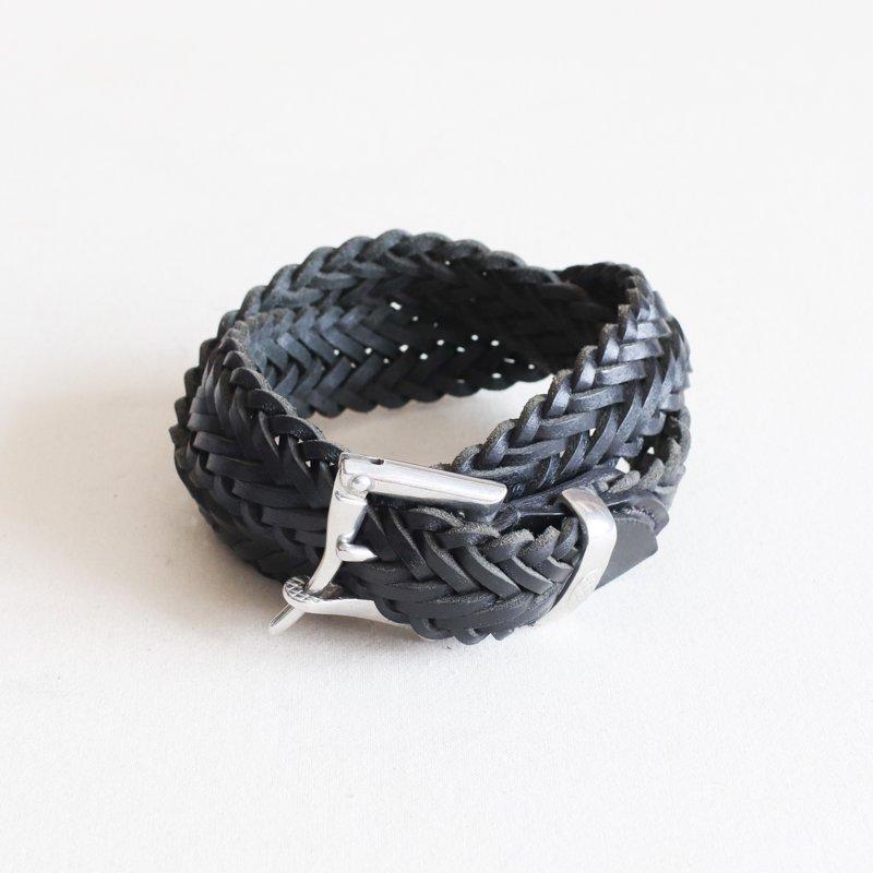 MARTIN FAIZEY * 1.25 inch   quick release mesh belt  Black
