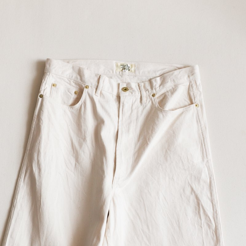 Tehu Tehu * Butterfly Hunting Trouers   9th Limited    Off White