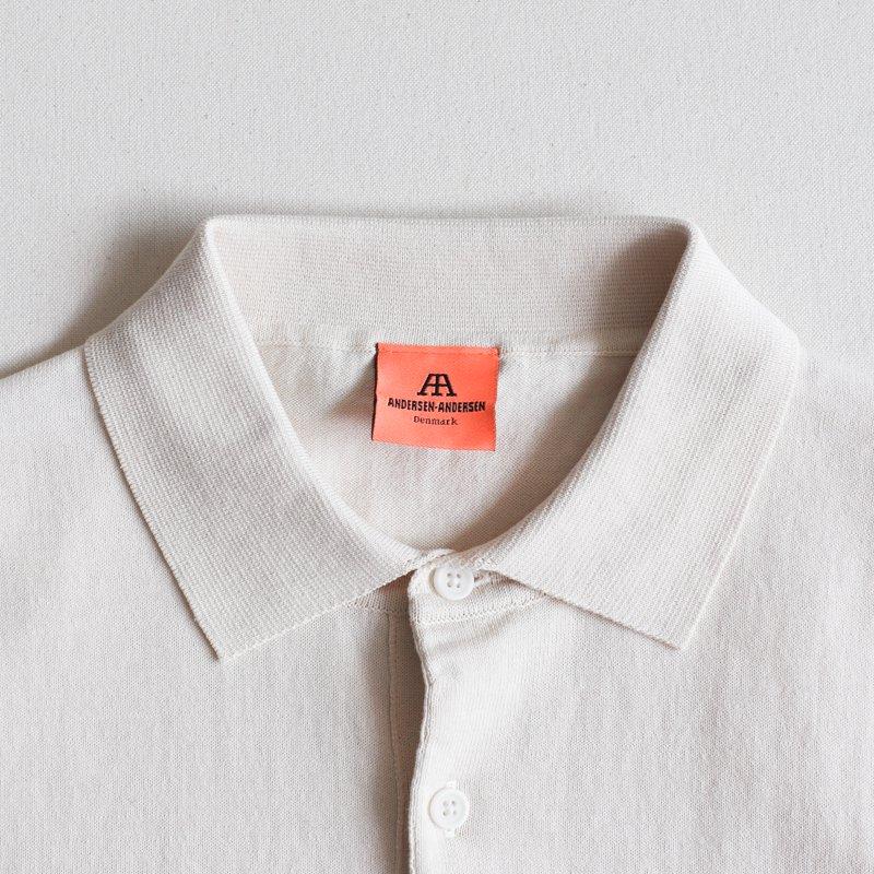 ANDERSEN-ANDERSEN * POLO SHORT Raw Cotton