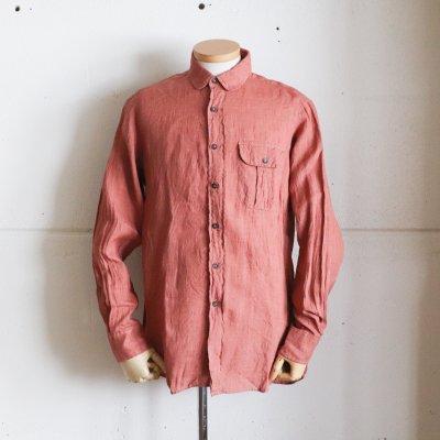 INDIVIDUALIZED SHIRTS  * Linen Shirt / Rust