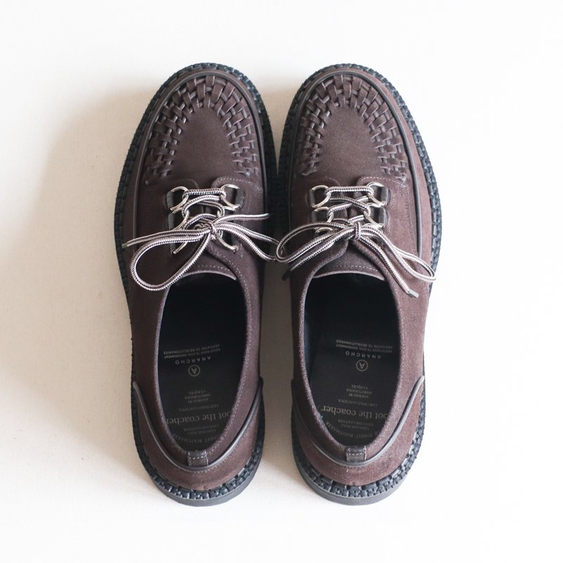Foot the coacher * CHAOS D-RING  SHOES       Dark Brown