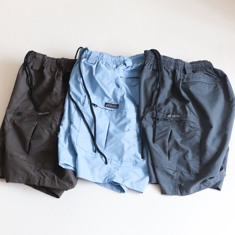 MOCEAN * Long Pursuit Shorts    Dark Gray