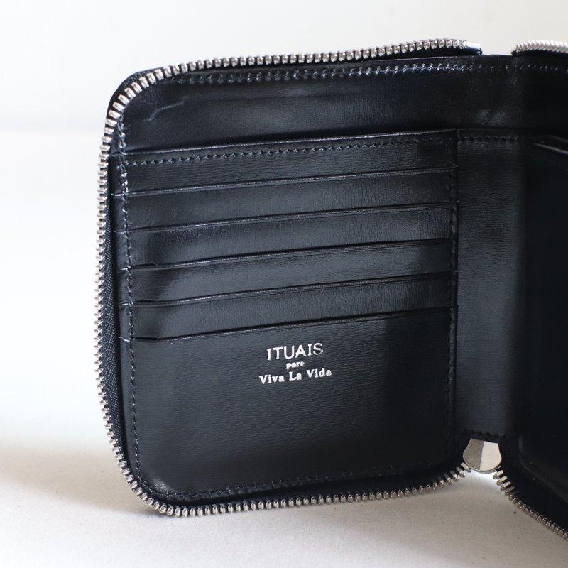 ITUAIS * RO-RO  Wallet Short       Diamond    Noir