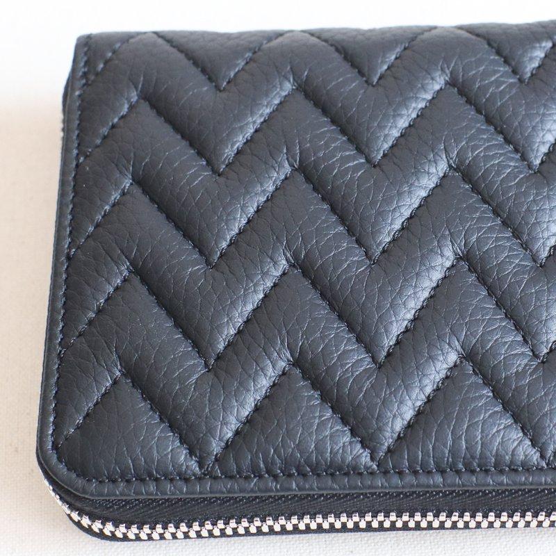 ITUAIS * RO-RO  Wallet Short        Zigzag    Noir