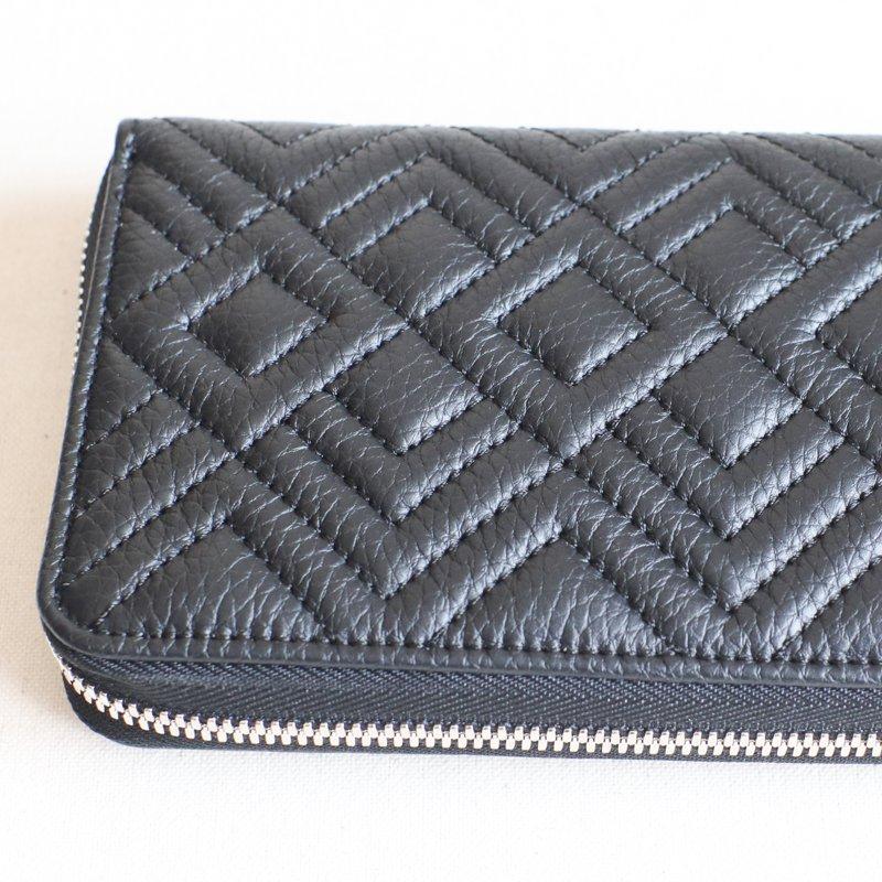 ITUAIS * RO-RO Wallet Long    Diamond  Noir