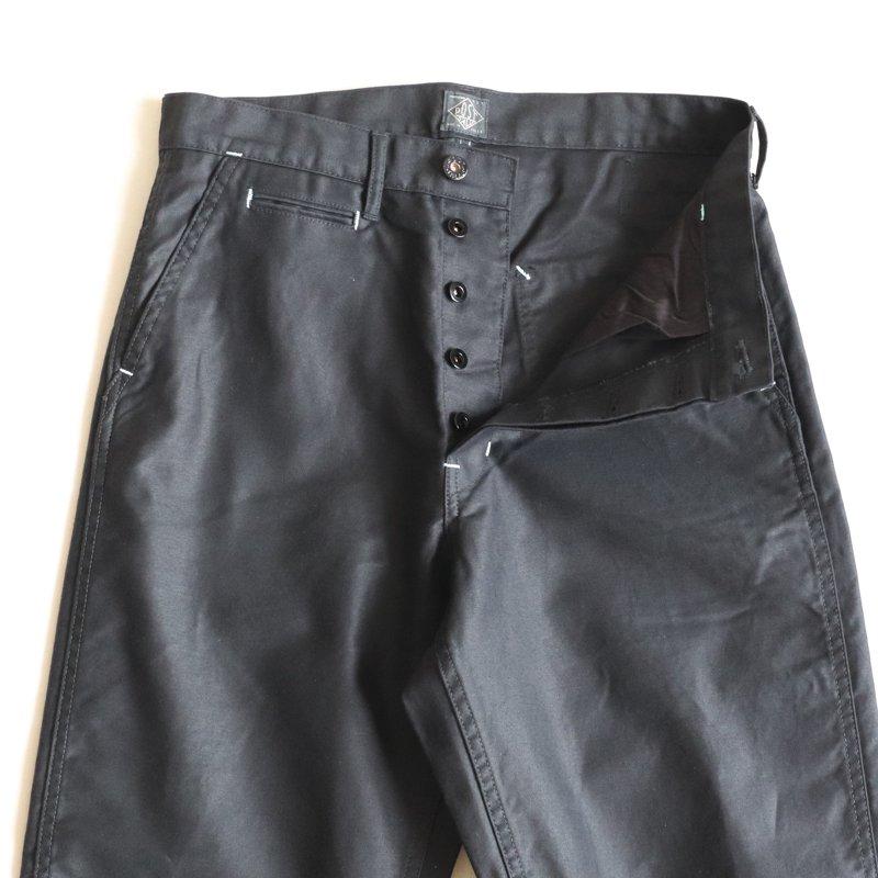 POST OVERALLS * Delaware2  Vintage Moleskin    Black