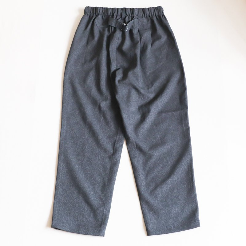 POST OVERALLS * E-Z Lax   Poly Tweed   Grey