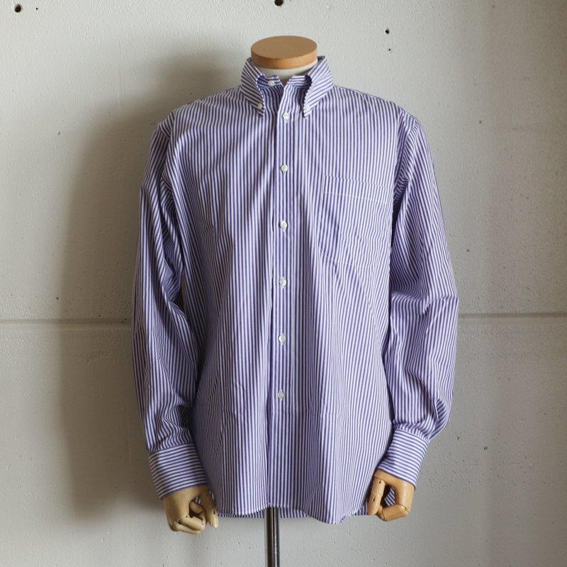INDIVIDUALIZED SHIRTS  * Classic Fit   Bengal Stripe  Purple