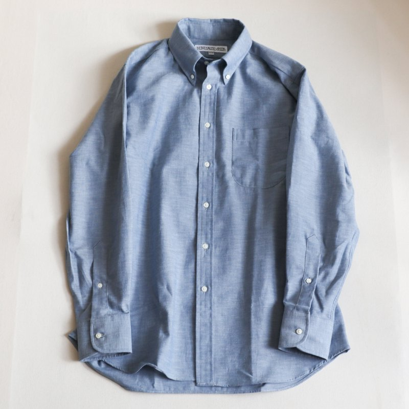 INDIVIDUALIZED SHIRTS  * Classic Fit   Heritage Chambray  Blue