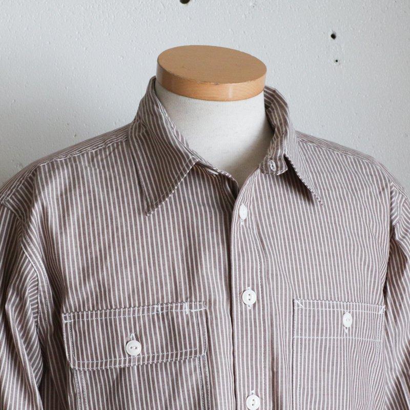 EG WORKADAY * UTILITY SHIRT  Cotton Crawford Brown