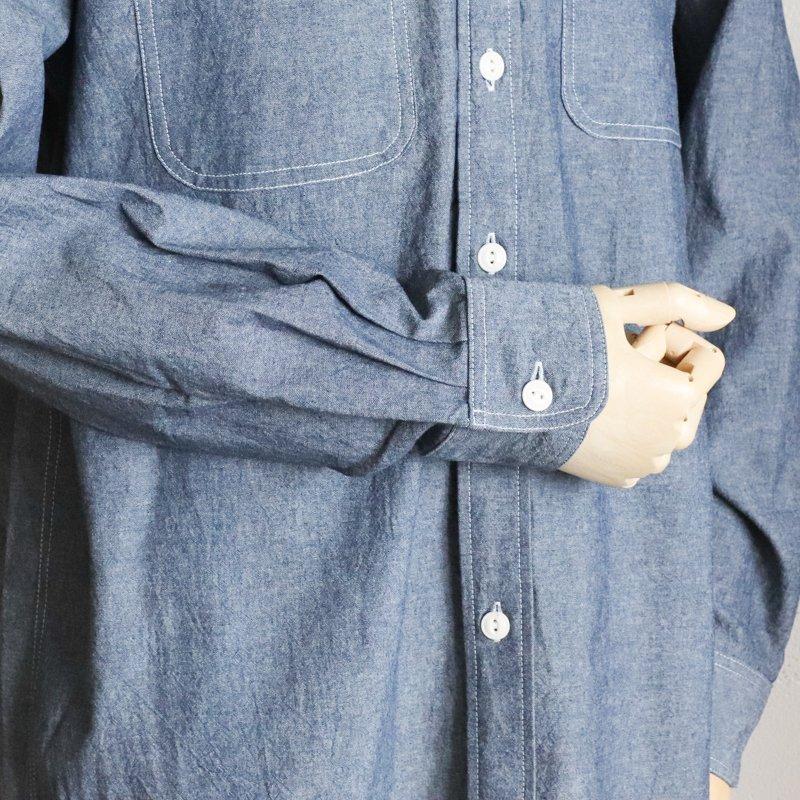 EG WORKADAY * UTILITY SHIRT  Cotton Row Chambray