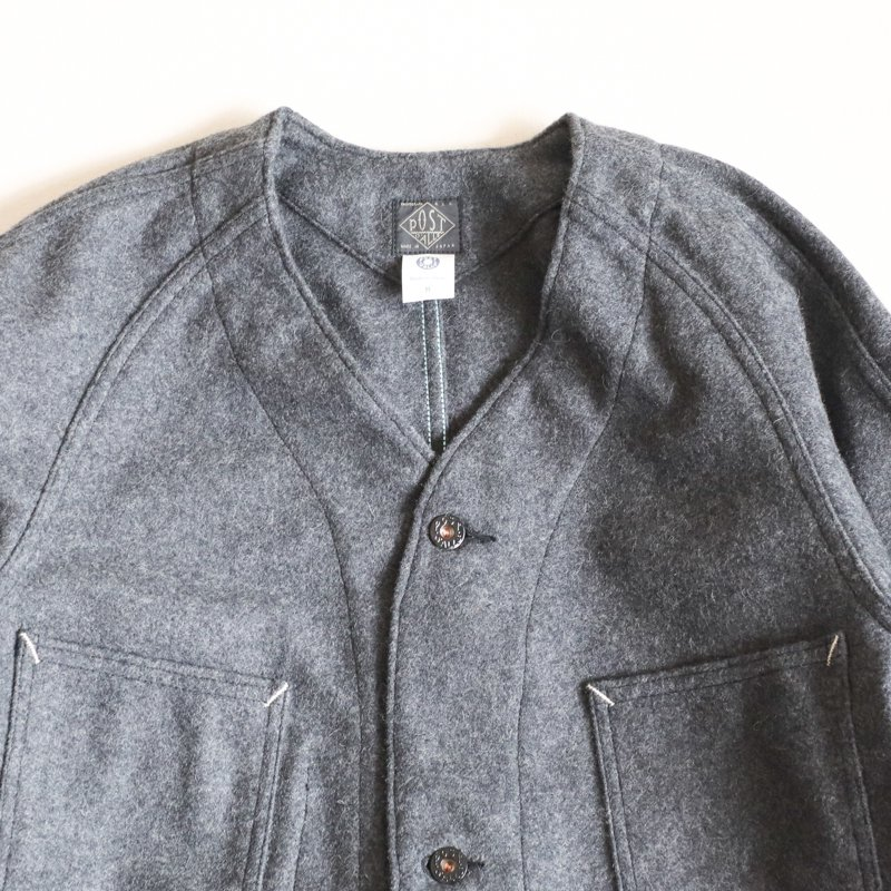 POST OVERALLS * POST42 DV Woolmelton Charcoal