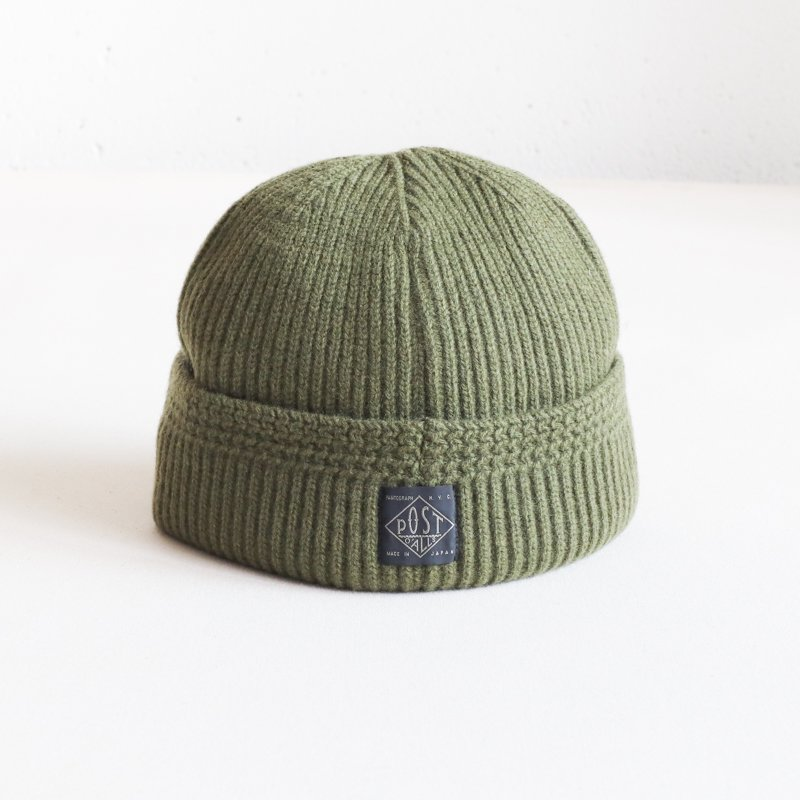 POST OVERALLS * POST BEANIE   olive heather