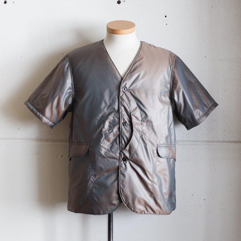POST OVERALLS * Royal Traveler Shirt 1/2 Poly Taffeta  Brown