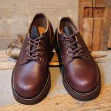 VIBERG BOOT Nailed Old Oxford   Chrome Excel Merlot