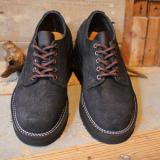 VIBERG BOOT * Old Oxford   Black Roughout