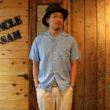 POST OVERALLS * NEW E-Z CRUZ S/S Feather Chambray LT.Blue