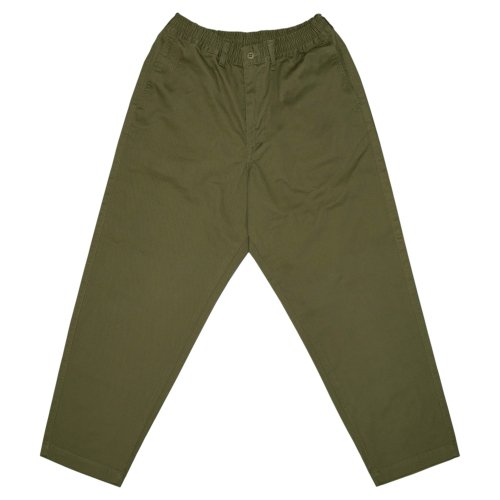 Mild Tapered Easy Pants - Olive