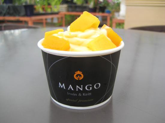 自家製マンゴーアイス  4ヶ入り