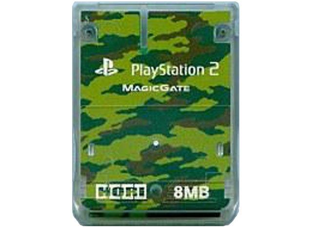 PS2用 メモリーカード8M(ホリ製)/中古