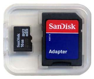 (送料0円メール便)microSDHC SANDISK 16GB