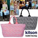 即日【kitson】/キットソン/ グラフティトートバッグ
