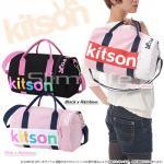 即日/【kitson】MINI DUFFLE/キットソンミニダッフルBAG/Pink/RAINBOW
