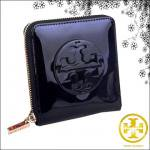 【TORYBURCH】 トリーバーチ PATENT LEATHER CONTINENTAL WALLET エナメル二つ折り財布