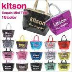 即日/キットソン/kitson)スパンコール/ミニトートバッグ