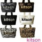 即日/キットソン kitson フェイクファー トート バッグ/ふわモコ_かわいい