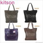 即日/kitson/キットソン/スタッズトートバッグ/フェイクレザー