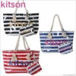 KITSON/キットソン/ ストライプ/ビーチトート/かわいい/夏