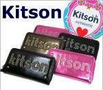 即日/ KITSON /キットソン/  長財布 /ラウンドファスナー /スタッズ/