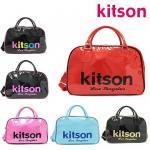 即日あり/キットソン /kitson/2way  ショルダーバッグ  PVC ボーリング スポーツ型 Lサイズ /