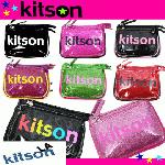 即日/キットソン /kitsonコインケース DOUBLE POCKET
