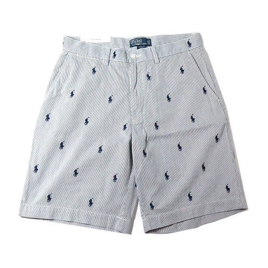 <img class='new_mark_img1' src='//img.shop-pro.jp/img/new/icons20.gif' style='border:none;display:inline;margin:0px;padding:0px;width:auto;' />【50%OFF】<p>Polo Ralph Lauren<p/><p>ラルフローレン<p/><p>総柄ストライプショーツ <p/>