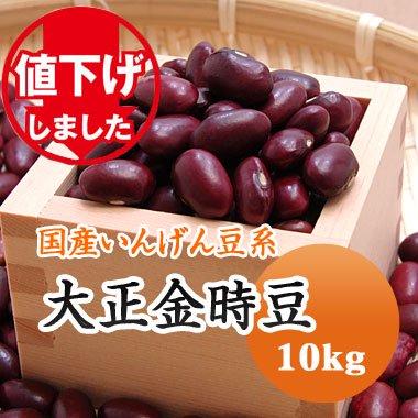 値下げでお得!【28年産】北海道産 大正金時(10kg)