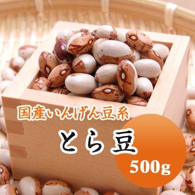 【29年産】北海道産 とら豆(500g)