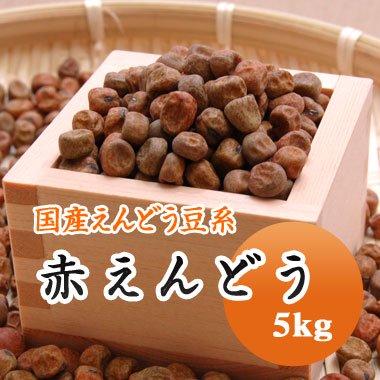 【28年産】北海道産 赤えんどう(5kg)